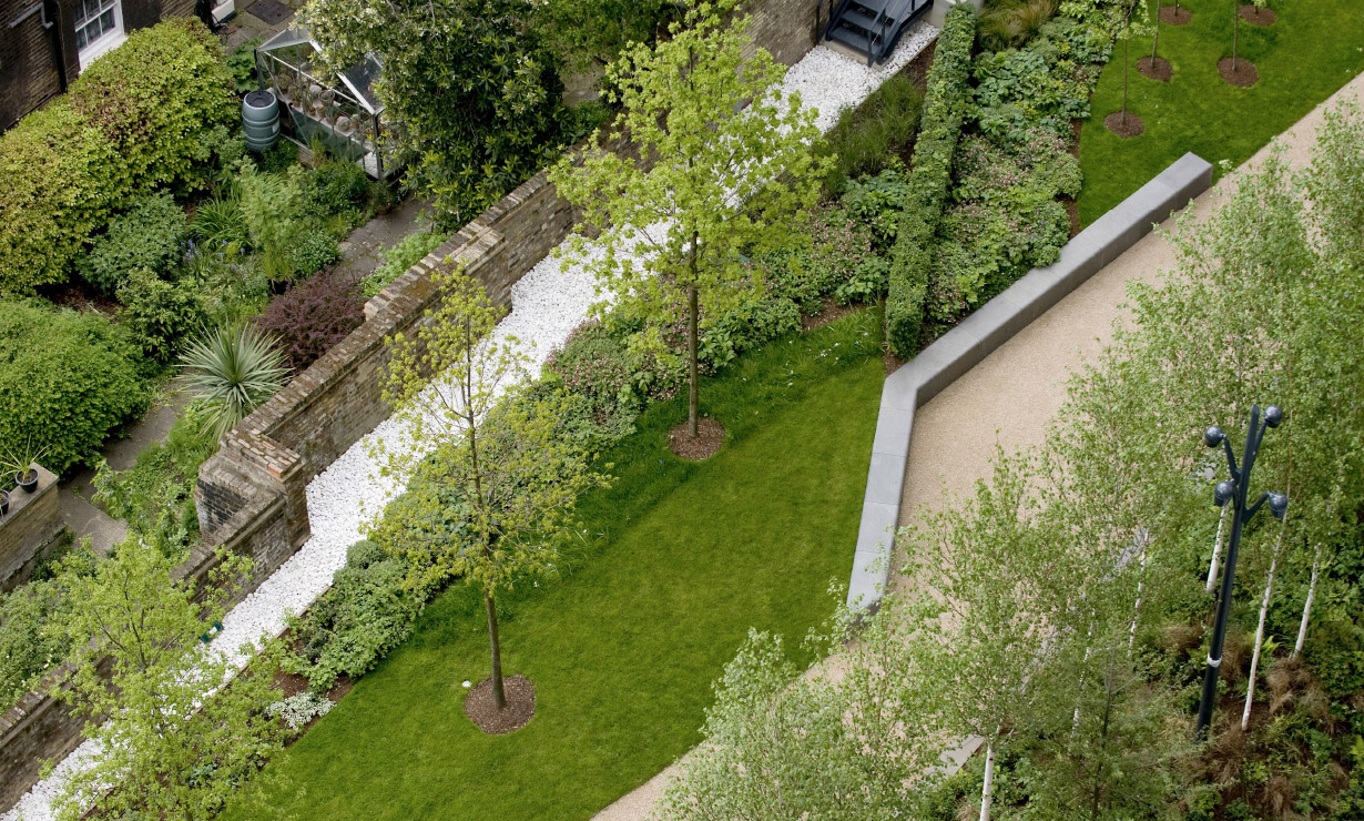 The Gardens at NEO Bankside